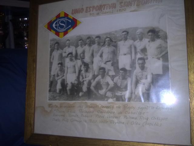 1er equip UE Santboiana 1921